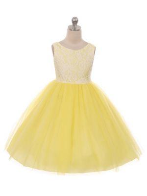 Lauren Dress - Yellow