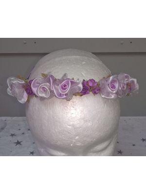 Flower Garland - Lilac