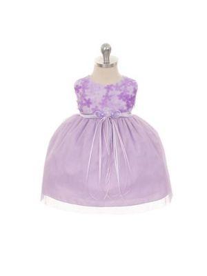 Melanie Dress - Lavender (Infant)