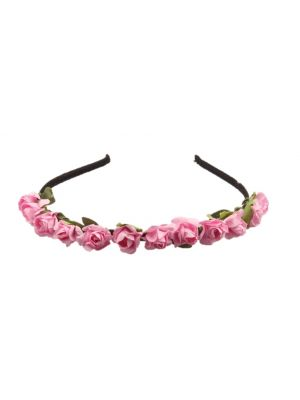 Mini Flower Headband - Light Pink
