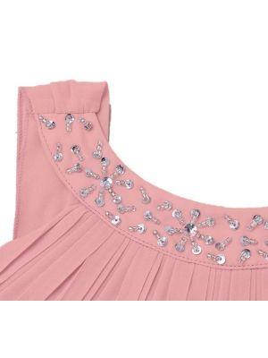 Nina Dress - Blush