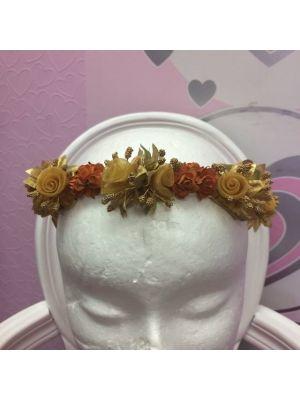 Flower Garland - Gold