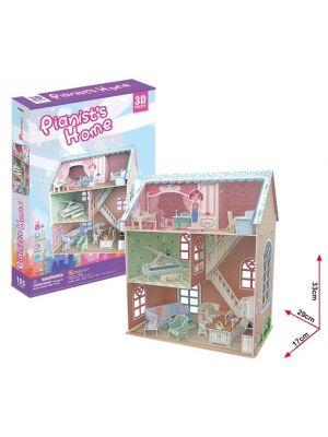 CubicFun: 3D Dollhouse - Pianists House