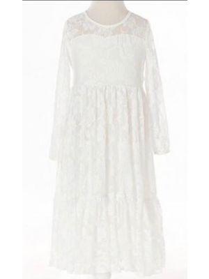 Piper Dress - White