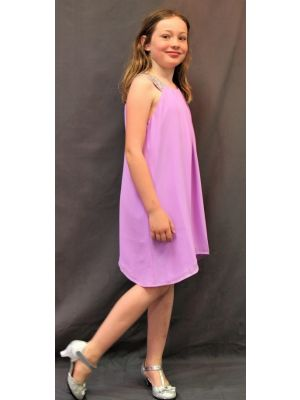 Polly Dress - Lilac - Size 13/14