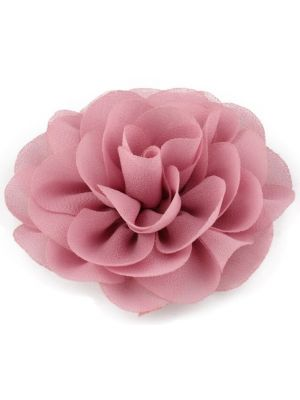 Chiffon Rose - Hair Clips - Dusty Rose