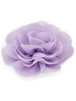 Chiffon Rose - Hair Clips - Lavender