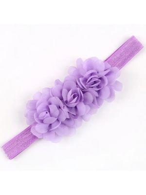 Ruffle Headband - Lavender