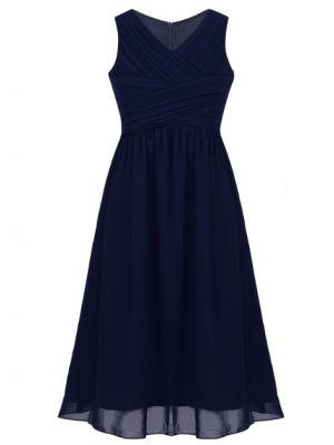 Sophia Dress - Navy