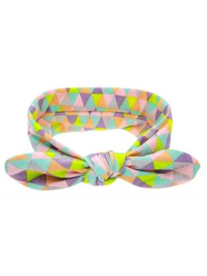 Knot Headband - Black/White Stripes